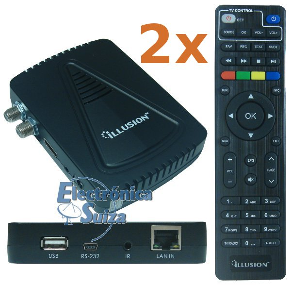 PACK 2 Uds. Talcom/Orchid HD500 WIFI + Cable HDMI Gratis