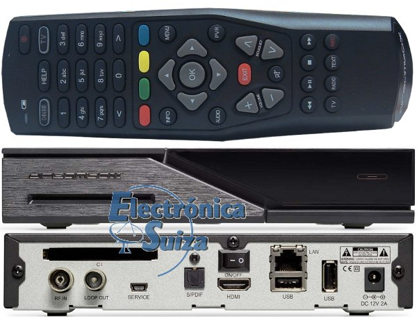 Dreambox DM525 HD 1x DVB-C/T2 Tuner PVR ready Full HD 1080p H.265