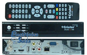 Cristor Atlas HD 100 Ethernet + Cable HDMI 1.4 HQ de regalo