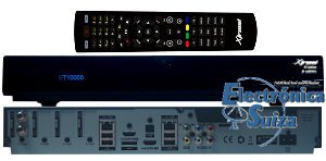 Xtrend ET 10000 HD Quad 1xDVB-S2 black Linux Full HD HbbTV