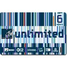 MTV unlimited Ticket 6 meses
