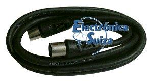 Cable extensor de antena negro