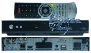 Qviart COMBO V2 Hybrid Sat/T2/CaTV PVR-WiFi-USB