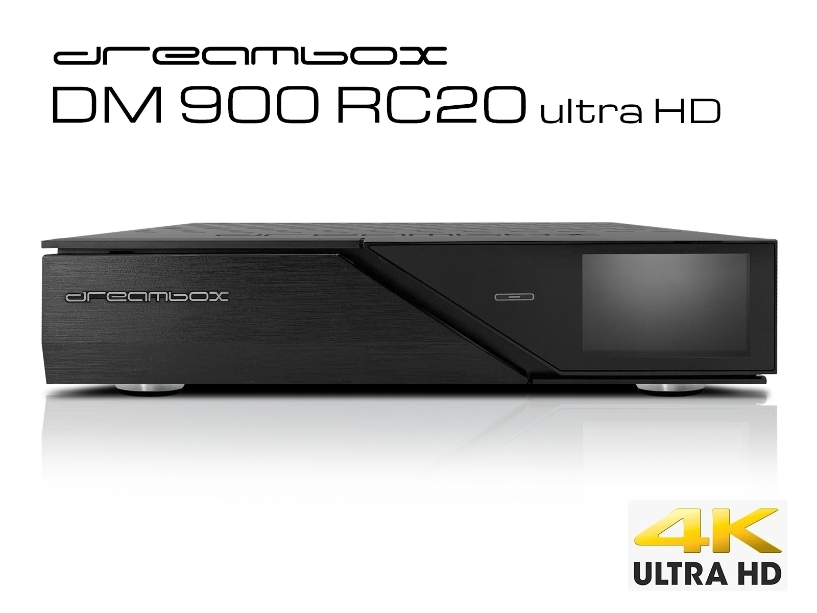 Dreambox DM900 RC20 UHD 4K 1xDVB-S2 FBC TwinTuner E2 Linux PVR