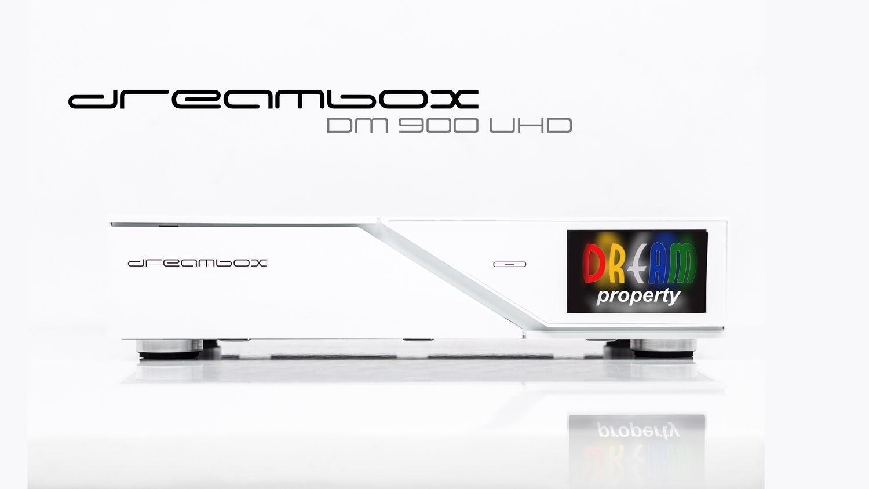 Dreambox DM900 WE UHD 4K 1xDVB-S2 FBC TwinTuner E2 Linux PVR Receiver
