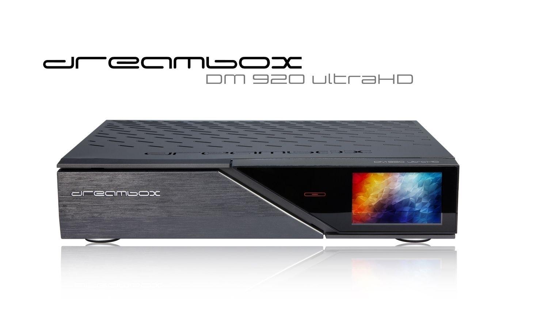 Dreambox DM920 UHD 4K 1xDVB-S2 Dual / 1xDVB-C/T2 DualTuner Linux PVR