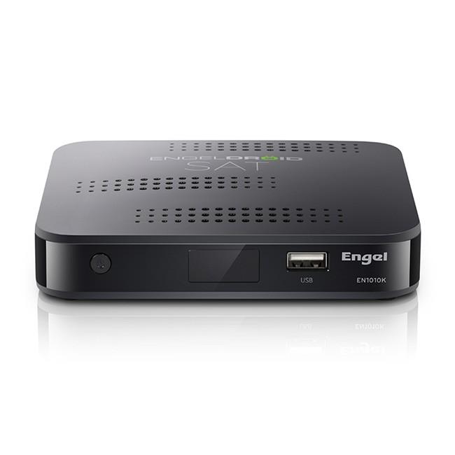 Engel EN1010 4K Receptor Android + DVB-S2-4K