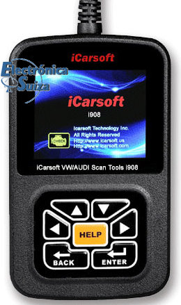 iCarsoft VW/AUDI Scan Tools i908