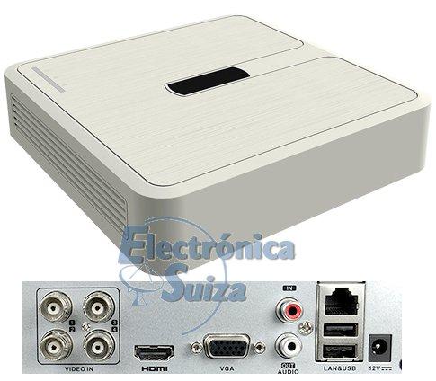 Grabador 5 en 1 HIKVISION 4 canales