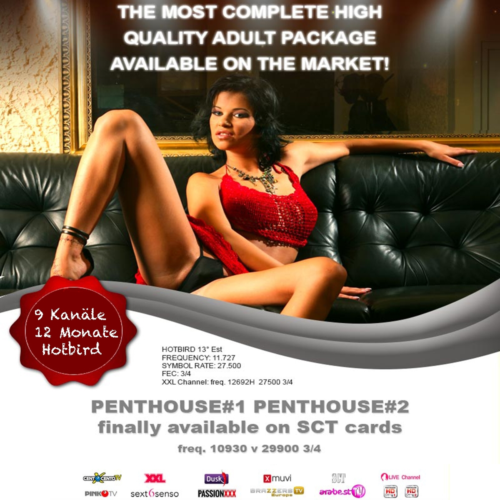 Satisfaction TV - Penthouse - Viaccess Card