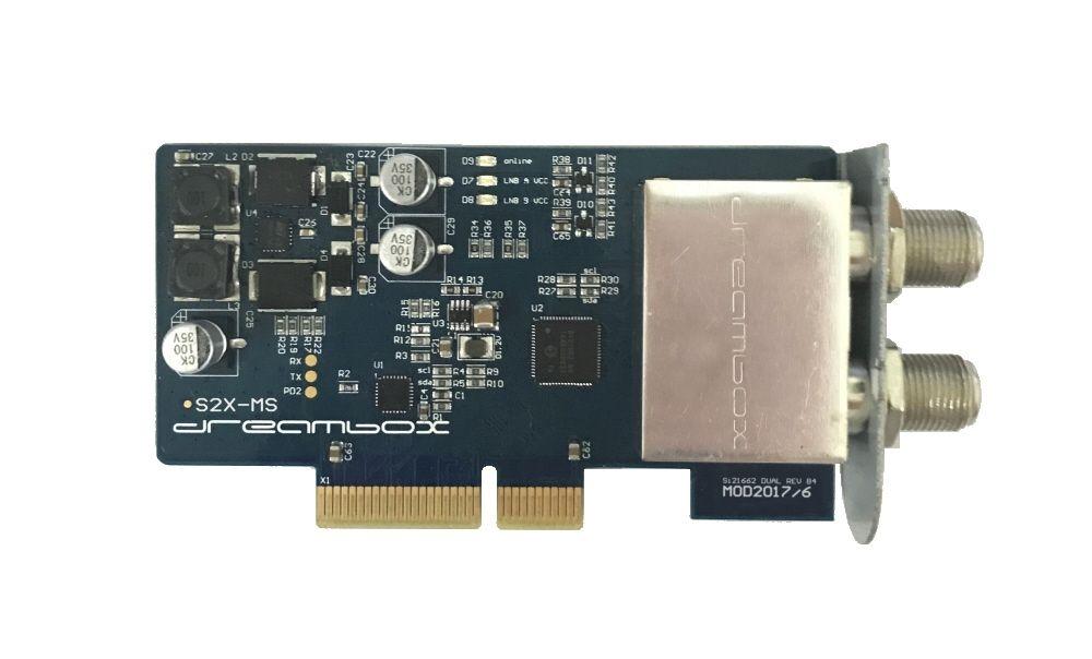 Dreambox Dual / Twin DVB-S2X MultiStream Tuner