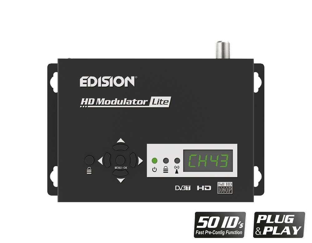 Modulador HDMI a DVB-T FullHD