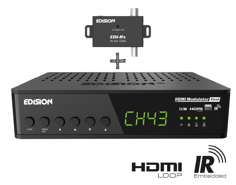 Modulador Digital FullHD MHD001P