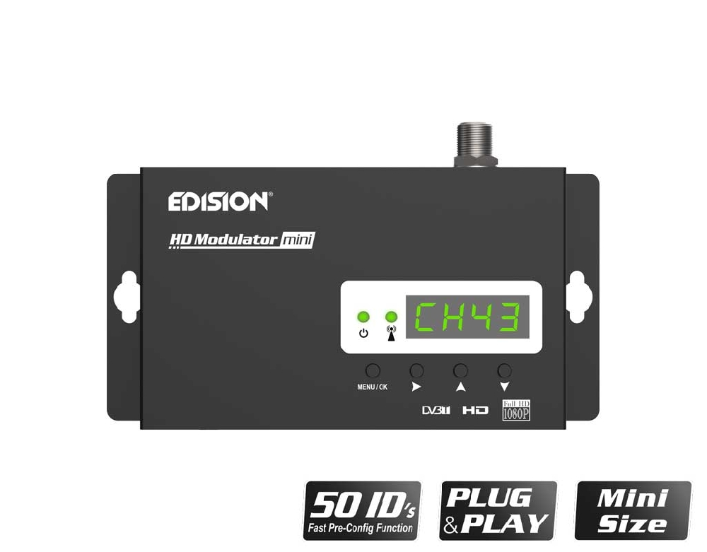 EDISION HDMI MODULATOR mini