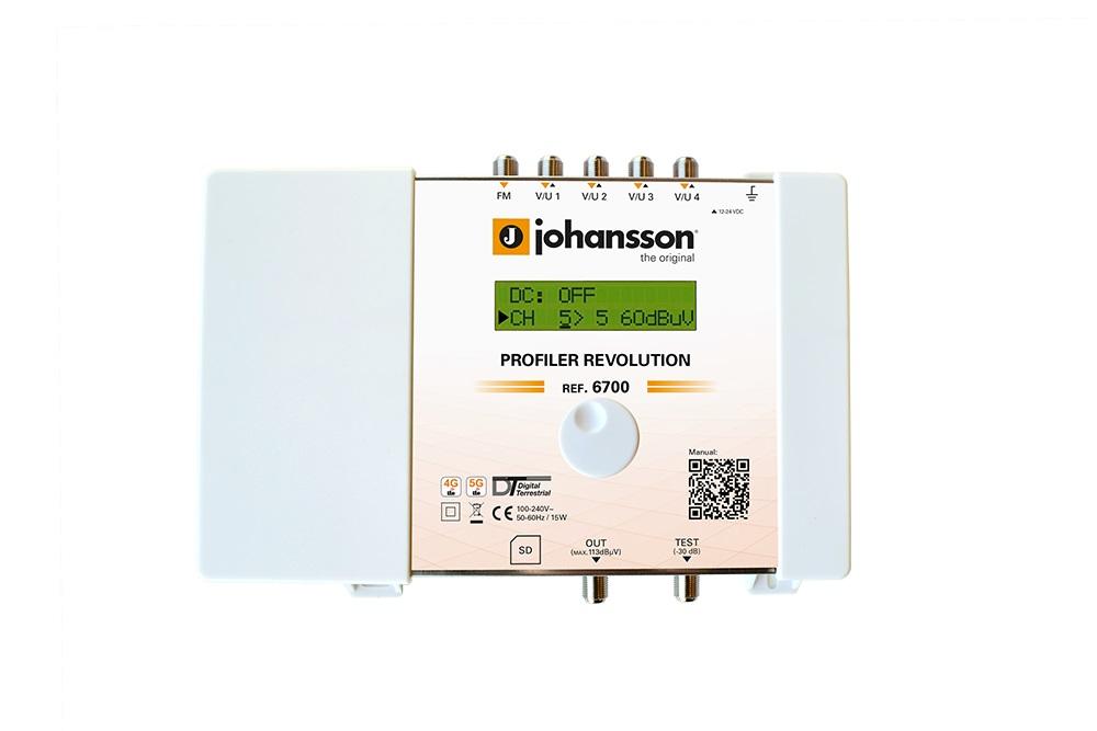 Johansson 6700 Profiler Amplificador terrestre programable
