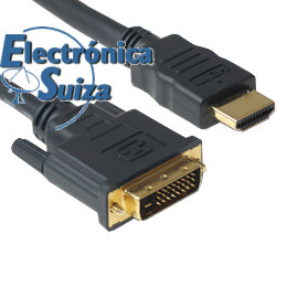 HC0011-05 Cable HDMI/DVI 5m.