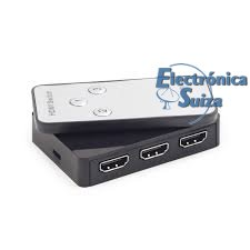 Interface SWITCH HDMI 3 Puertos 1.4a