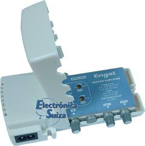 Amplificador interior 2 Salidas UHF Engel