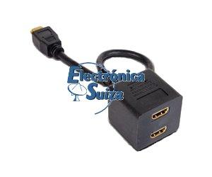 Distribuidor Duplicador HDMI 1E-2S