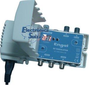 Modulador Audiovisual Engel Digisender II (VHF-UHF)