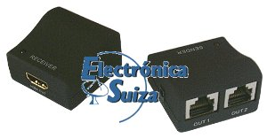 Conversor de sinal de HDMI a Ethernet