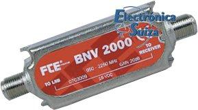 Amplificador de linea SAT FTE BNV-2000