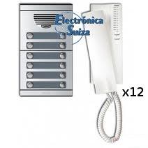Kit Tegui A12 placa y teléfono S7