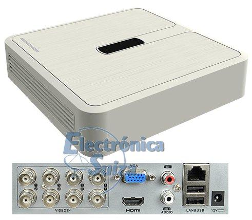 Grabador 5 en 1 HIKVISION 8 canales