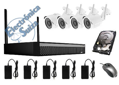 Kit Wireless CCTV 720